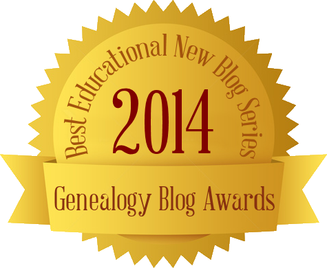 The German-American Genealogist Blog - 2014 Best Educational New Blog Series - Genealogy Blog Awards